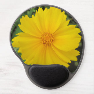 Coreopsis Yellow Flower Bloom Gel Mousepads