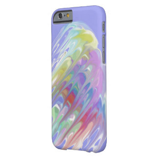 Cores abstratas barely there iPhone 6 case