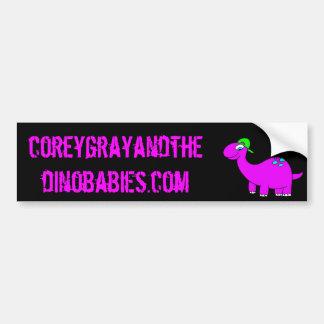 Corey Gray and the Dinobabies Bumper Sticker