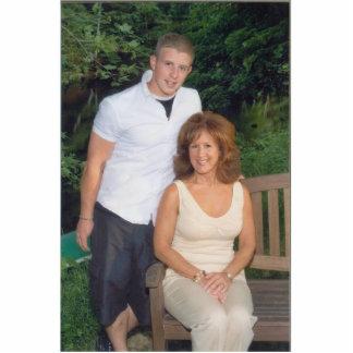 Corey & Mom Cutout