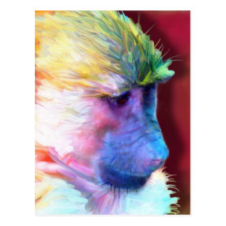 Corey the Baboon Postcard