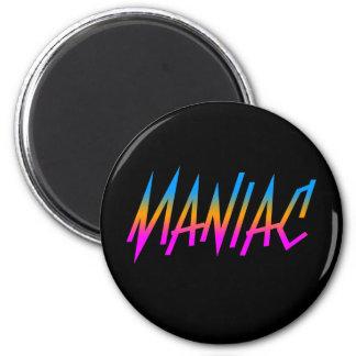 COREY TIGER 1980s RETRO MANIAC Magnet