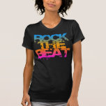 COREY TIGER 1980s RETRO ROCK THE  BEAT Tshirts