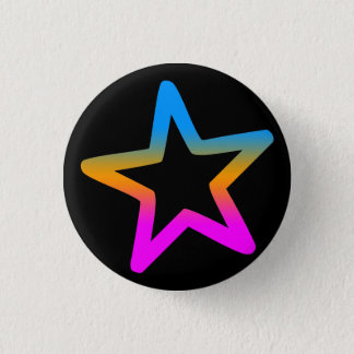 COREY TIGER 1980s RETRO STAR Pinback Button