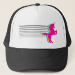 "Corey Tiger 1980S Retro Vintage Unicorn Trucker Hat<br><div class=""desc"">Just one of many designs available on a wide array of quality products.  