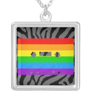 Corey Tiger 80s Cassette Tape Necklace