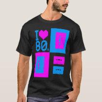 "Corey Tiger 80s ""I Love 80s Cassette Tapes"" Shirt"