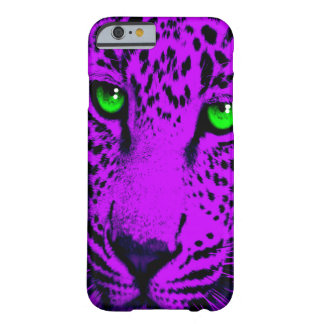 Corey Tiger 80s Leopard Face (Purple) Barely There iPhone 6 Case