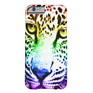 Corey Tiger 80s Leopard Face (Rainbow) Barely There iPhone 6 Case