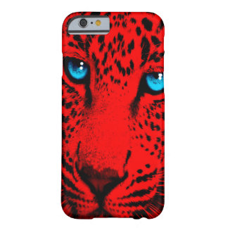 Corey Tiger 80s Leopard Face (Red) Barely There iPhone 6 Case