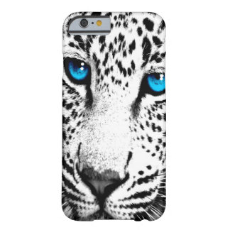 Corey Tiger 80s Leopard Face (White) Barely There iPhone 6 Case