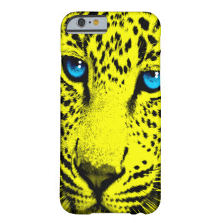 Corey Tiger 80s Leopard Face (Yellow) Barely There iPhone 6 Case