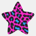 Corey Tiger 80s Leopard Spots (Pink) Sticker