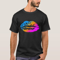 COREY TIGER 80's LIPS T-Shirt