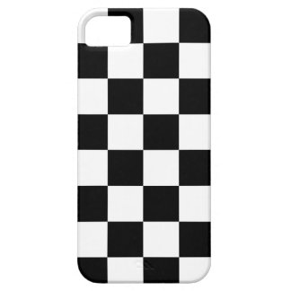 Corey Tiger 80s Neon Checkerboard (Black / White) iPhone SE/5/5s Case