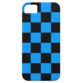 Corey Tiger 80s Neon Checkerboard (Blue) iPhone SE/5/5s Case