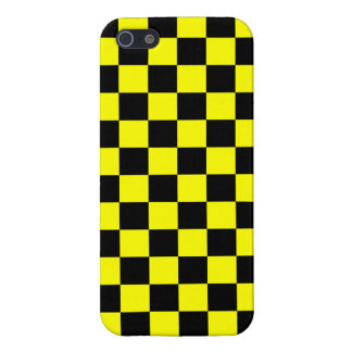 Corey Tiger 80s Neon Checkerboard (Yellow) Case For iPhone SE/5/5s