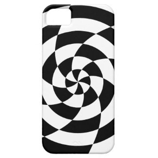 Corey Tiger 80s Neon Op Art (Black / White) iPhone SE/5/5s Case