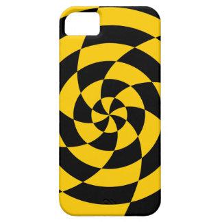 Corey Tiger 80s Neon Op Art (Orange) iPhone SE/5/5s Case