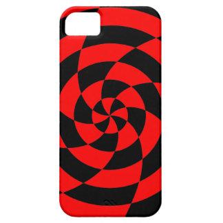 Corey Tiger 80s Neon Op Art (Red) iPhone SE/5/5s Case