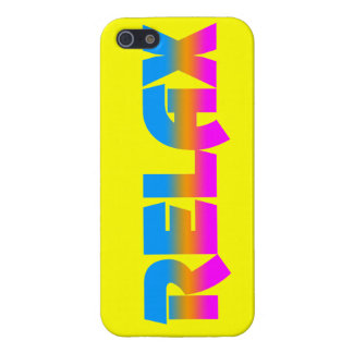 Corey Tiger 80s Neon Relax Cover For iPhone SE/5/5s