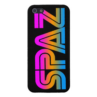 Corey Tiger 80s Neon SPAZ Cover For iPhone SE/5/5s