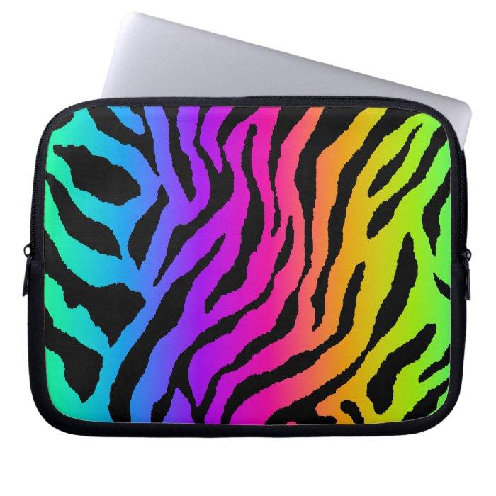 Corey Tiger 80s Neon Tiger Print Computer Sleeve
