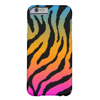 Corey Tiger 80s Neon Tiger Stripes Barely There iPhone 6 Case
