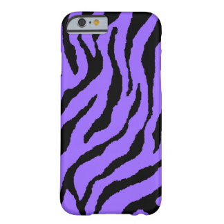 Corey Tiger 80s Neon Tiger Stripes (Purple+Black) Barely There iPhone 6 Case
