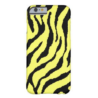 Corey Tiger 80s Neon Tiger Stripes (Yellow+Black) Barely There iPhone 6 Case