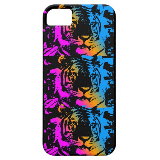 Corey Tiger 80s Neon Tigers iPhone 5 Cover