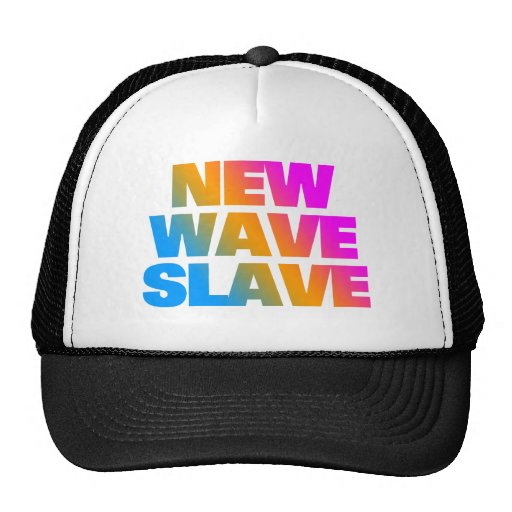 COREY TIGER 80's NEW WAVE SLAVE Trucker Hat