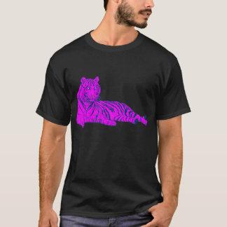 COREY TIGER 80's PINK LOUNGE TIGER T-Shirt