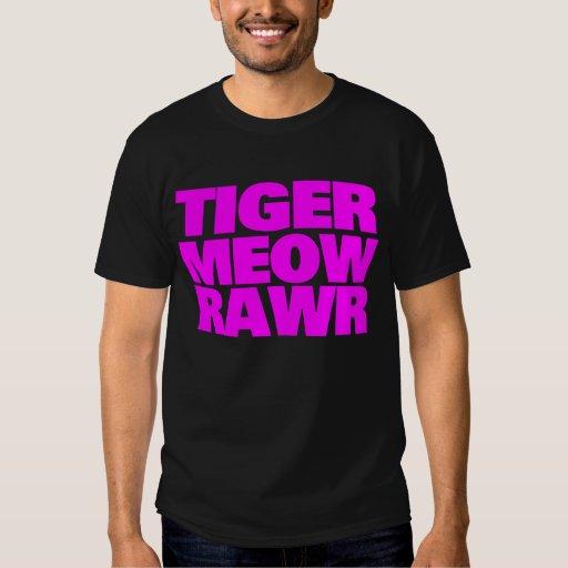 COREY TIGER 80's PINK TIGER MEOW RAWR T-Shirt