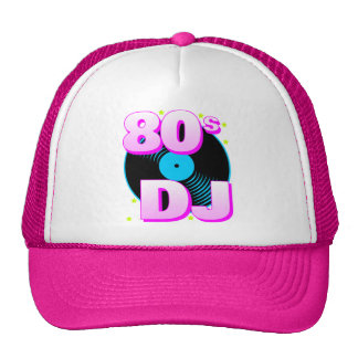 Corey Tiger 80s Retro 80s DJ Trucker Hat