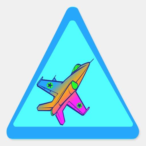 Corey Tiger 80s Retro Jet Fighter Plane Stickers
