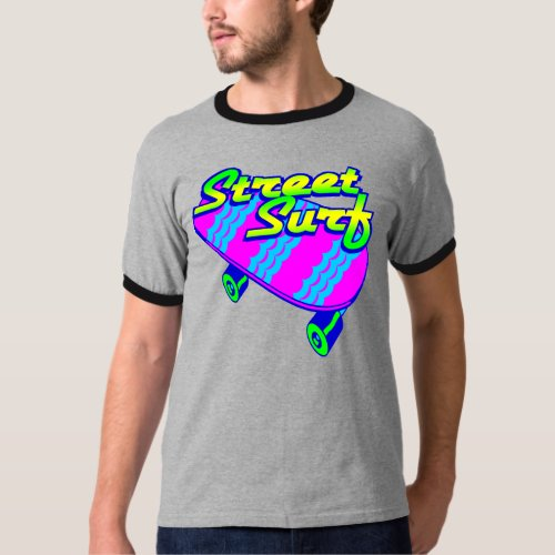 Corey Tiger 80s Retro Street Surf Skateboard