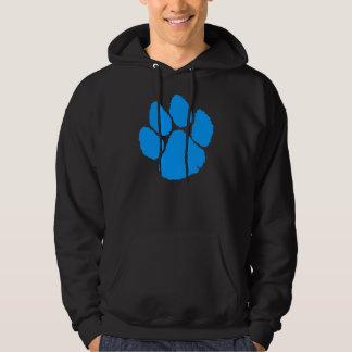 COREY TIGER '80s RETRO TIGER CLAW BLUE Hoodie
