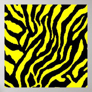 Corey Tiger 80s Retro Tiger Pattern Print