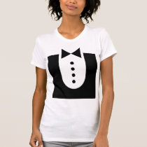 COREY TIGER 80's RETRO VINTAGE PROM TUX AWESOME T-Shirt
