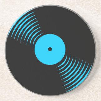 Corey Tiger 80s Retro Vintage Vinyl Record Coaster