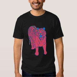 COREY TIGER 80's STRIPED TIGER STANDING T-Shirt