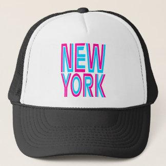Corey Tiger 80s Style New York Trucker Hat