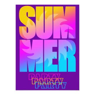 Corey Tiger 80s Summer Sun Card