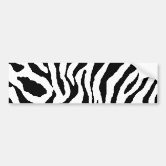 Corey Tiger 80s Tiger Stripes Bumper Sticker