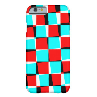 Corey Tiger 80s Trippy Checkerboard Barely There iPhone 6 Case