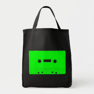 Corey Tiger 80s Vintage Cassette Tape (Green) Tote Bag