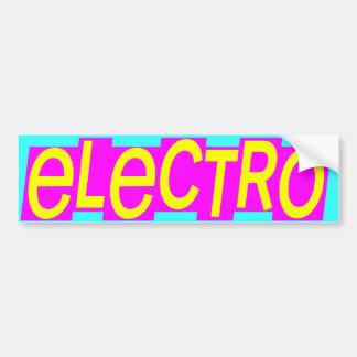 Corey Tiger 80s Vintage Electro Bumper Sticker