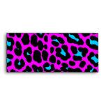 Corey Tiger 80s Vintage Hot Pink Leopard Print Envelope