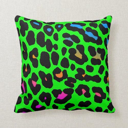 Corey Tiger 80s Vintage Neon Leopard Print